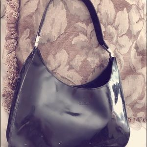 Authentic Gucci black handbag
